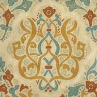 "Bombay Design I by Megan Meagher - 22"" x 22"""