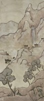 "Chinoiserie Landscape I by Chariklia Zarris - 25"" x 55"", FulcrumGallery.com brand"