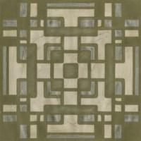 Deco Tile III Framed Print