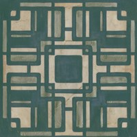 Deco Tile IV Framed Print