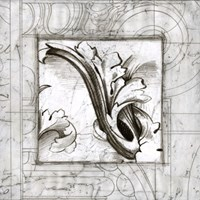 """Acanthus Detail II by Ethan Harper - 26"""" x 26"""" - $46.99"""