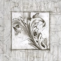"""Acanthus Detail III by Ethan Harper - 26"""" x 26"""" - $46.99"""