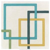 Infinite Loop III Framed Print