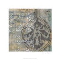 """Floating Patterns IV by Jennifer Goldberger - 21"""" x 21"""""""