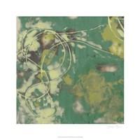 """Entwined Emerald II by Jennifer Goldberger - 26"""" x 26"""""""