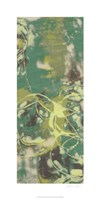 "Entwined Emerald III by Jennifer Goldberger - 18"" x 36"""