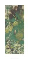 """Entwined Emerald IV by Jennifer Goldberger - 18"""" x 36"""""""