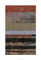 Wax Textures I Framed Print