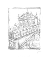 Sketches of Venice I Fine Art Print