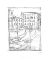 Sketches of Venice III Fine Art Print