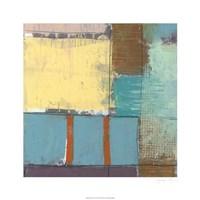 """Pastel City I by Jennifer Goldberger - 26"""" x 26"""""""