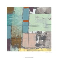 "Pastel City II by Jennifer Goldberger - 26"" x 26"""