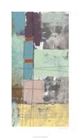 """Pastel City IV by Jennifer Goldberger - 21"""" x 36"""""""