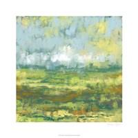 "Sunfield I by Jennifer Goldberger - 26"" x 26"""