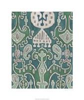 "Emerald Ikat I by Chariklia Zarris - 22"" x 26"""