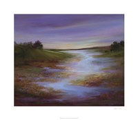 "Light at Dusk I by Sheila Finch - 30"" x 26"""