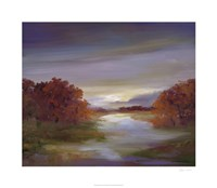 "Light at Dusk II by Sheila Finch - 30"" x 26"""