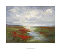 Red Poppy Field Fine Art Print
