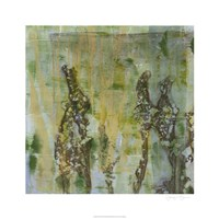 Flower Field I Framed Print