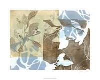 """Leaf Inclusion II by Jennifer Goldberger - 30"""" x 24"""""""