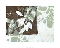"""Leaf Inclusion III by Jennifer Goldberger - 30"""" x 24"""""""