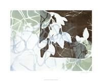 """Leaf Inclusion IV by Jennifer Goldberger - 30"""" x 24"""""""