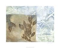 "Leaf Inclusion V by Jennifer Goldberger - 30"" x 24"""