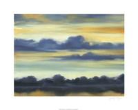 """Fountain Lake I by Jennifer Goldberger - 30"""" x 24"""""""
