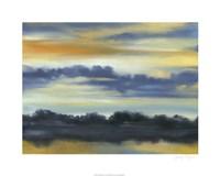 """Fountain Lake II by Jennifer Goldberger - 30"""" x 24"""""""