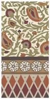 Non-Embellished Turkish Garden I Framed Print