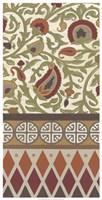 Non-Embellished Turkish Garden II Framed Print