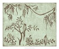 "Peaceful Garden I by Nancy Slocum - 22"" x 18"""