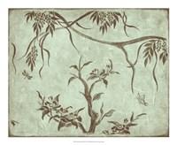"""Peaceful Garden II by Nancy Slocum - 22"""" x 18"""""""
