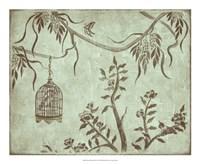 """Peaceful Garden III by Nancy Slocum - 22"""" x 18"""""""
