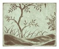 "Peaceful Garden IV by Nancy Slocum - 22"" x 18"""