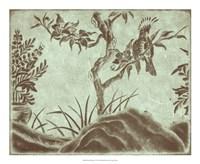 "Peaceful Garden V by Nancy Slocum - 22"" x 18"""