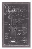 "Aeronautic Blueprint II by Vision Studio - 20"" x 31"" - $43.99"