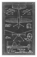 "Aeronautic Blueprint III by Vision Studio - 20"" x 31"" - $43.99"