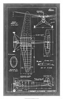 """Aeronautic Blueprint IV by Vision Studio - 20"""" x 31"""" - $43.99"""