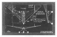 """Aeronautic Blueprint V by Vision Studio - 31"""" x 20"""" - $43.99"""