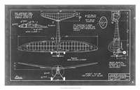"""Aeronautic Blueprint VI by Vision Studio - 31"""" x 20"""" - $43.99"""