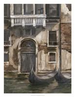 Venetian Facade I Framed Print