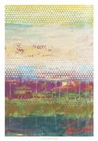 """Pixel Plane II by Jennifer Goldberger - 21"""" x 30"""""""