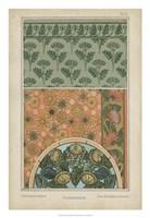 """Nouveau Floral Design I by Vision Studio - 18"""" x 26"""""""