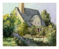 "Cotswold Cottage I by Mary Jean Weber - 22"" x 18"""