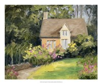 Cotswold Cottage III Fine Art Print