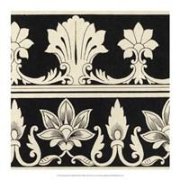 "Ornamental Tile Motif II by Vision Studio - 17"" x 17"""