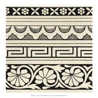 "Ornamental Tile Motif III by Vision Studio - 17"" x 17"""