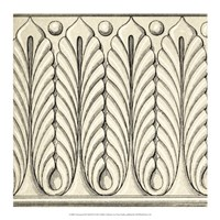 "Ornamental Tile Motif IX by Vision Studio - 17"" x 17"""