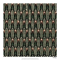 "Vintage Patternbook VI by Vision Studio - 18"" x 18"""